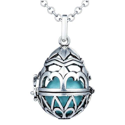 heart locket with gems inside