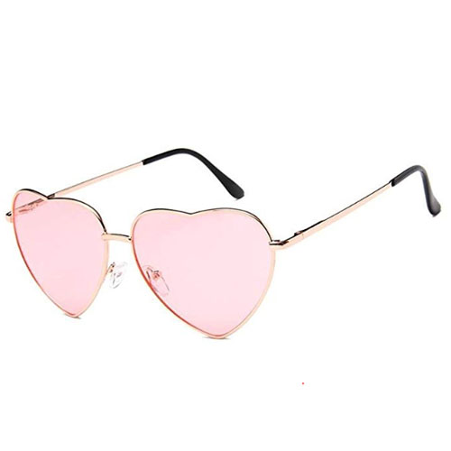 Hippy heart sunglasses