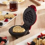 small heart shaped waffle maker non stick