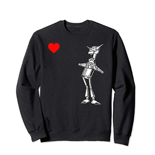 heart wizard of oz sweater for men