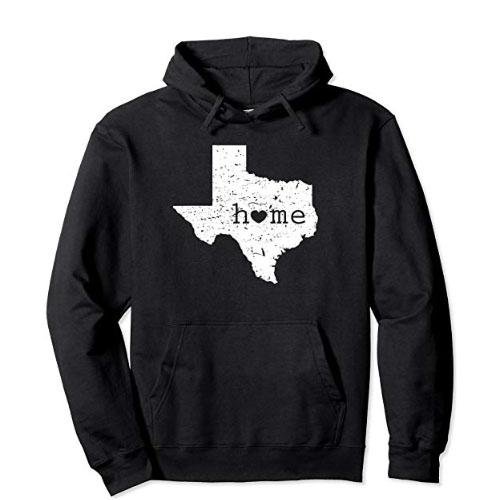 texas heart sweater hoodie