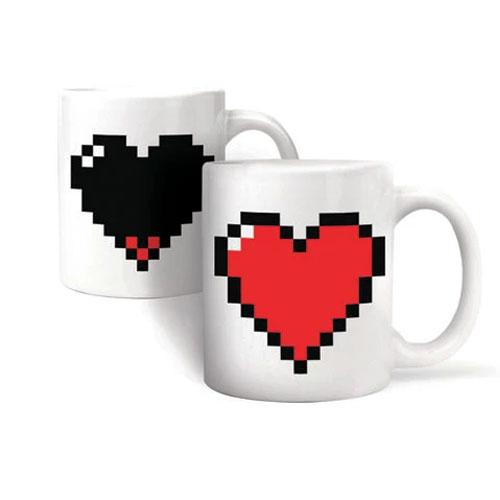 heart termical mug