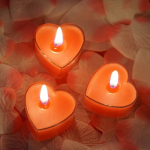 buy heart shaped candles