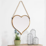 inexpensive heart shaped mirror for home